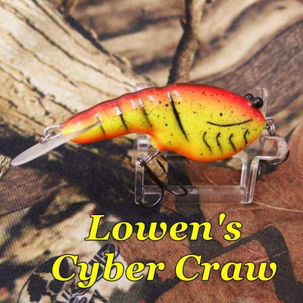 PH Custom Lures Lowen's Cyber Craw # Dirty Mudbug