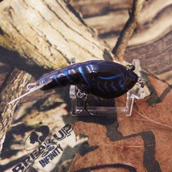 PH Custom Lures Lowen's Cyber Craw # Midnight Mudbug