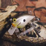PH Custom Lures Tiny Hunter # Hot TN Shad