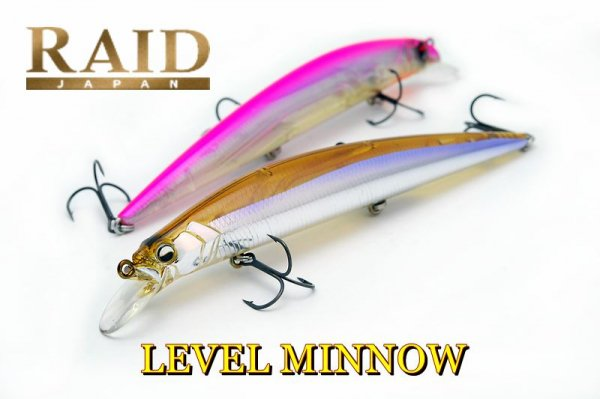 RAID JAPAN LEVEL MINNOW / レベルミノー