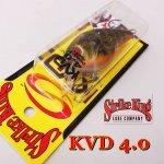 ストライクキング KVD4.0 スクエアビル
