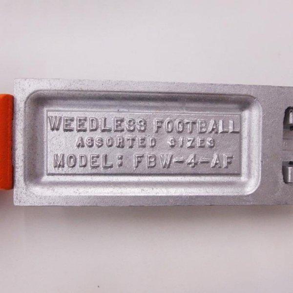デッドストック DO-ITモールド ウィードレス フットボール アソートサイズ