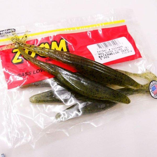ZBC ズームワーム MAGNUM SUPER FLUKE #112-019 WATERMELON SEED