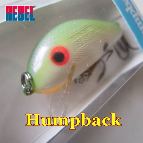 <img class='new_mark_img1' src='https://img.shop-pro.jp/img/new/icons29.gif' style='border:none;display:inline;margin:0px;padding:0px;width:auto;' />REBEL Humpback Crankbait / レーベル ハンプバック クランクベイト