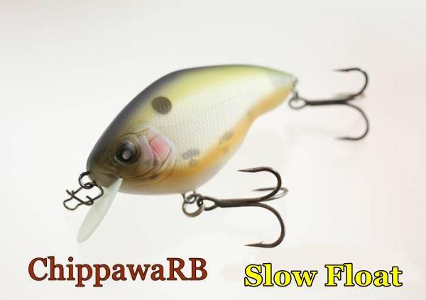Nishine Lure Works  Chippawa RB/ニシネルアー チッパワRB スローフロートモデル 【クリックポスト可】