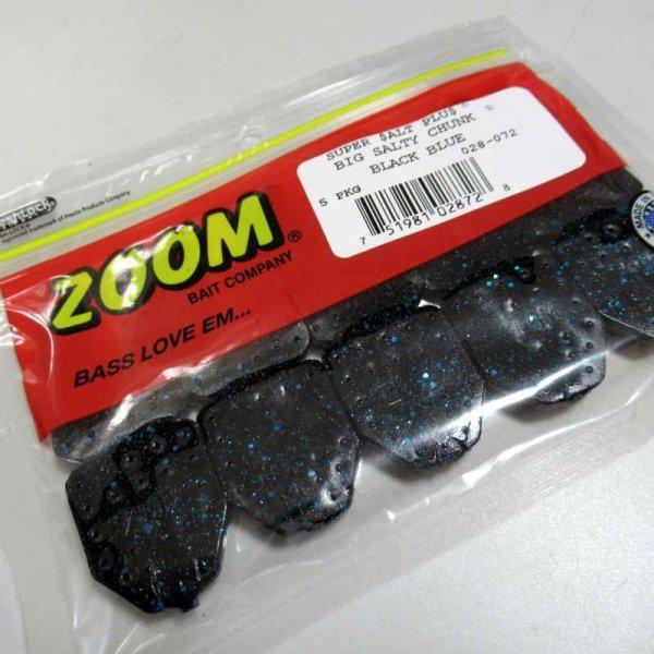 ZBC ズームワーム ZOOM ビッグソルティチャンク #028-072 BLACK BLUE