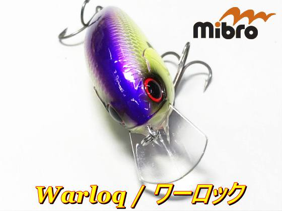 <img class='new_mark_img1' src='https://img.shop-pro.jp/img/new/icons20.gif' style='border:none;display:inline;margin:0px;padding:0px;width:auto;' />mibro Warloq / ミブロ ワーロック