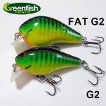 Greenfish Tackle / グリーンフィッシュタックル G2&FAT G2 スクエアビル【メール便可】
