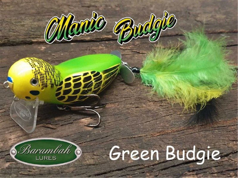 <img class='new_mark_img1' src='https://img.shop-pro.jp/img/new/icons5.gif' style='border:none;display:inline;margin:0px;padding:0px;width:auto;' />Barambah Lures Manic Budgie/ バランバルアーズ マニックバッジー