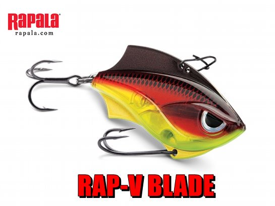 RAPALA RAP-V BLADE / ラップ V ブレード 【メール便可】
