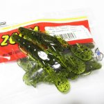 ZBC ズームワーム マグナムウルトラバイブ スピードクロー #146-019 Watermelon Seed