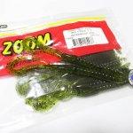 ZBC ズームワーム マグナム U-テール #144-019 Watermelon Seed