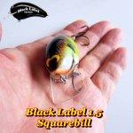 Black Label Tackle 1.5 Squarebill Crank / ブラックレーベルタックル 1.5 スクエアビルクランクベイト