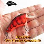 Black Label Tackle Hickster Flat Crank / ブラックレーベルタックル ヒックスター フラットサイドクランクベイト
