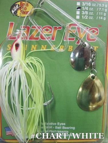 BASS PRO SHOPS バスプロショップス  Lazer Eye スピナーベイト DC(ダブルコロラド)