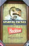 """Heddon 1957 Catalog""Pub Sign"
