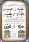"""Heddon 1933 Catalog""Pub Sign"