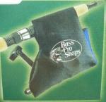 BASS PRO SHOPS バスプロショップス  ネオプレーン リールカバー スピニング用(ブラック)