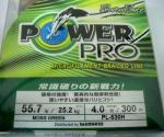 POWER PRO パワープロ マイクロフィラメント ブレイデッドライン モスグリーン