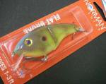 NORMAN LURES ノーマンルアーズ FLAT BROKE #253 RED EAR
