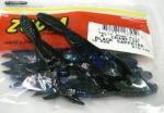 ZBC ズームワーム 4インチ クローフィッシュ #013-100 BLACK SAPPHIRE