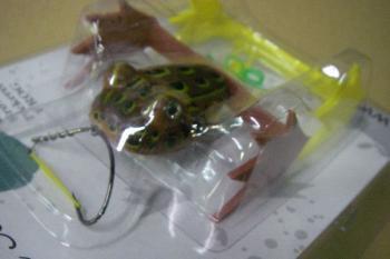 Captain Ken's Frog キャプテン・ケンズ フロッグ 【クローン】#2 Light Brown Pickerel