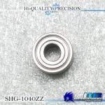 SHG-1040ZZ 内径4mm×外径10mm×厚み4mm シールドタイプ