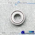 SHG-1150ZZ 内径5mm×外径11mm×厚み4mm シールドタイプ