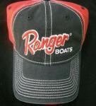 Ranger boats レンジャーボート トーナメントCAP レッド/ブラック