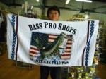 BASS PRO SHOPS バスプロショップス  ビーチタオル『Bass Pro Shops』