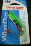 BOMBER ボーマー Who Dat - Weedless Rattling Spoon ウィードレス