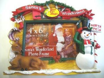 バスプロショップス クリスマス写真立て