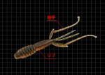 エバーグリーン プロデザインワーム 『C-4 シュリンプ』 2.8インチ