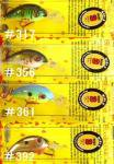 Strike King Bleeding Bait Series MINI 3 BBHCM3