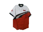 Ranger boats レンジャーボート トーナメントシャツ ホワイト/レッド Mサイズ