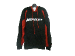 Mercury マーキュリー サークルエム フーデッドスウェット ブラック/レッド Mサイズ