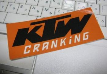KTW Hand Craft Studio 『KTW CRANKIG ステッカー』