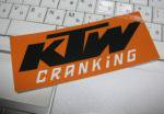 KTW Hand Craft Studio 『KTW CRANKIG ステッカー』