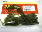 ZBC ズームワーム 8インチ ビッグデッドリンガー #021-025 GREEN PUMPKIN