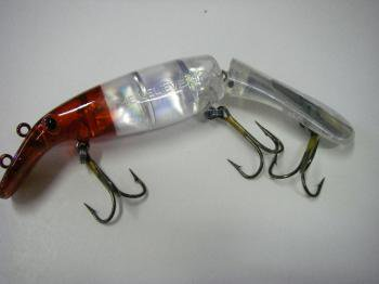Drifter Tackle ビリーバー 8インチ ジョイント Deadly Naked(反射板入)#Red Head