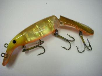 Drifter Tackle ビリーバー 8インチ ジョイント Deadly Naked(反射板入)#Hot Walleye