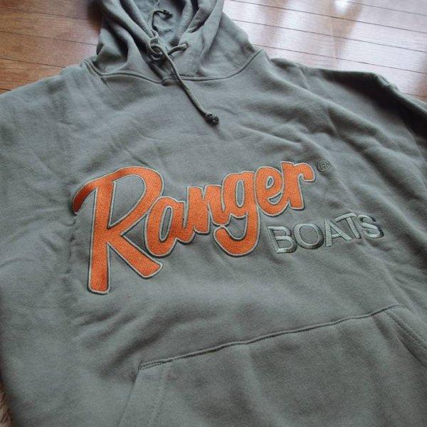 Ranger レンジャー プルオーバー パーカー #モスグリーン Mサイズ