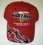 WAR EAGLE CUSTOM LURES/ウォーイーグル CAP レッド