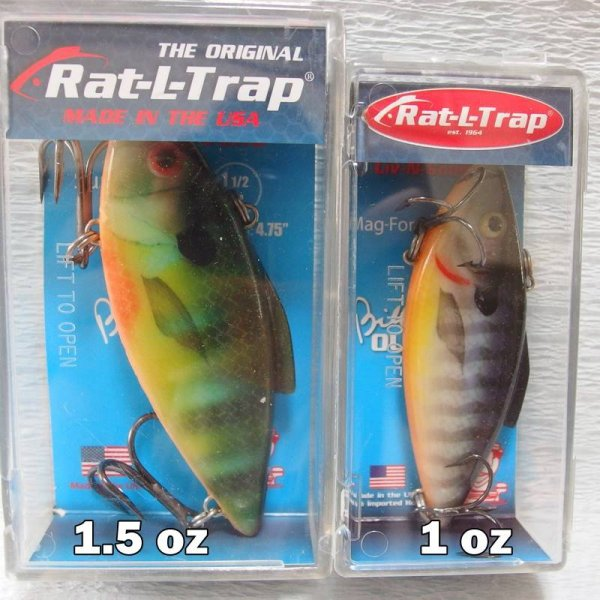 ビルルイスルアー RAT-L-TRAP / ラトルトラップ  1oz and 1.5oz