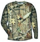 バスプロショップス レッドヘッド 速乾性ロングスリーブ Tシャツ Mossy Oak Break-Up Infinity