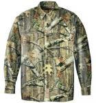バスプロショップス レッドヘッド Silent-Hide Shirt Mossy Oak Break-Up Infinity Mサイズ