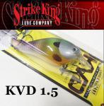 ストライクキング スクエアビル クランクベイト KVD1.5
