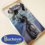 Buckeye Lures/バックアイルアーズ ダブルブレーデッドバズベイト ブラック