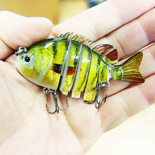 <img class='new_mark_img1' src='https://img.shop-pro.jp/img/new/icons20.gif' style='border:none;display:inline;margin:0px;padding:0px;width:auto;' />Kingbaits サンフィッシュ 6連結 ハードスイムベイト 3インチ