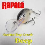 Rapala/ラパラ Scatter Rat/スキャッターラップ クランクディープ5cm DSCRC05